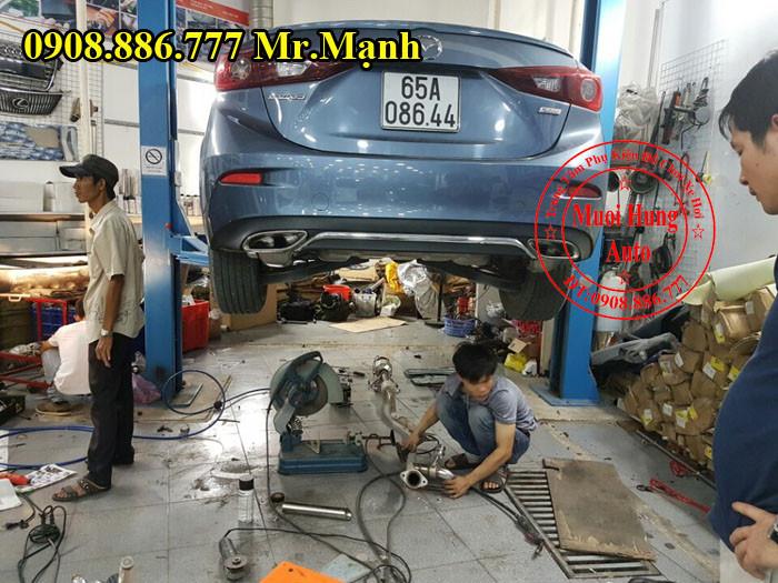 Độ Pô Mazda 3 Giá Rẻ Tại Tphcm 01