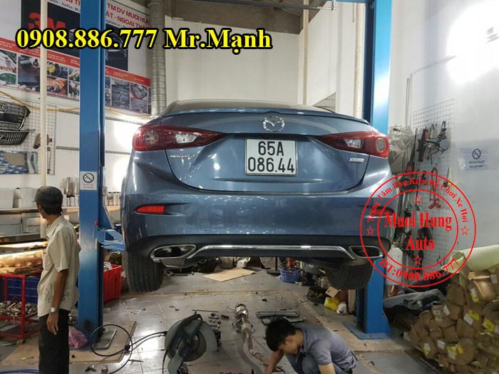 Độ Pô Mazda 3 Giá Rẻ Tại Tphcm 02