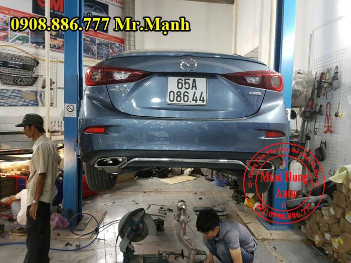 Độ Pô Mazda 3 Giá Rẻ Tại Tphcm 03