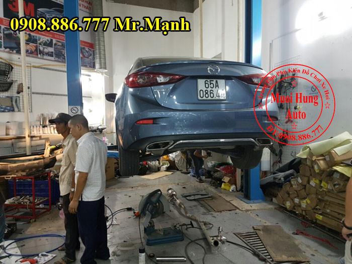 Độ Pô Mazda 3 Giá Rẻ Tại Tphcm 04