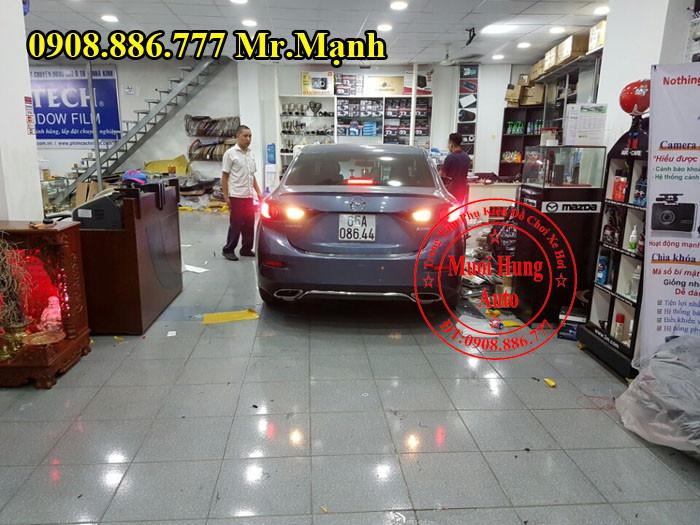 Độ Pô Mazda 3 Giá Rẻ Tại Tphcm