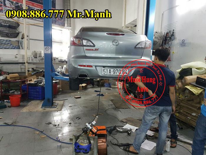 Độ Pô Mazda 3S Chuyên Nghiệp Tại Tphcm 01