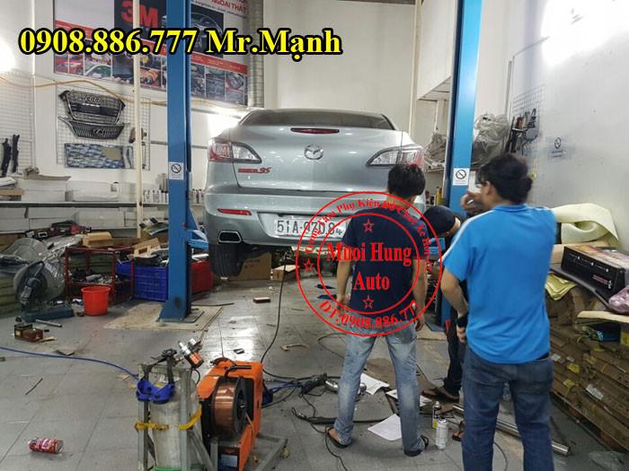 Độ Pô Mazda 3S Chuyên Nghiệp Tại Tphcm 02