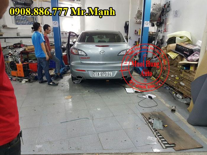 Độ Pô Mazda 3S Chuyên Nghiệp Tại Tphcm 03