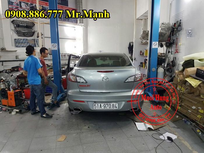 Độ Pô Mazda 3S Chuyên Nghiệp Tại Tphcm 04