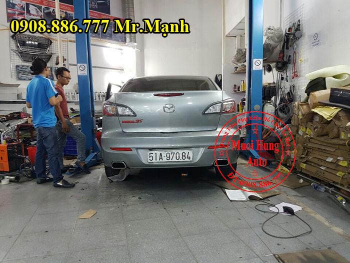 Độ Pô Mazda 3S Chuyên Nghiệp Tại Tphcm
