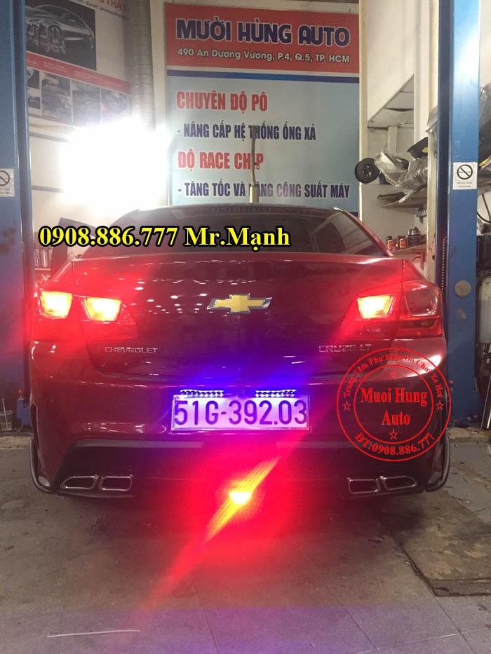 Độ Pô Thể Thao Chevrolet Cruze Chuyên Nghiệp