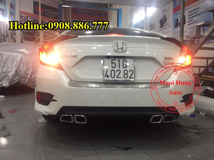 Độ Pô Honda Civic Chuyên Nghiệp Giá Rẻ 01