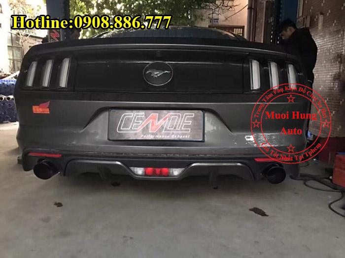 Độ Pô Tiếng Xe Ford Mustang Chuyên Nghiệp 05