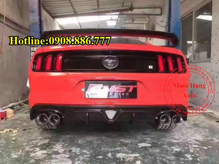 Độ Pô Tiếng Xe Ford Mustang Chuyên Nghiệp