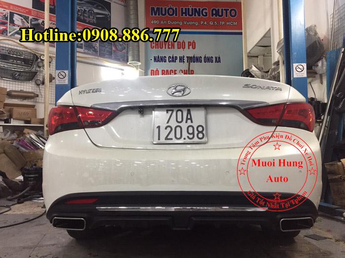 Độ Pô Vuông Chuyên Nghiệp Cho Hyundai Sonata