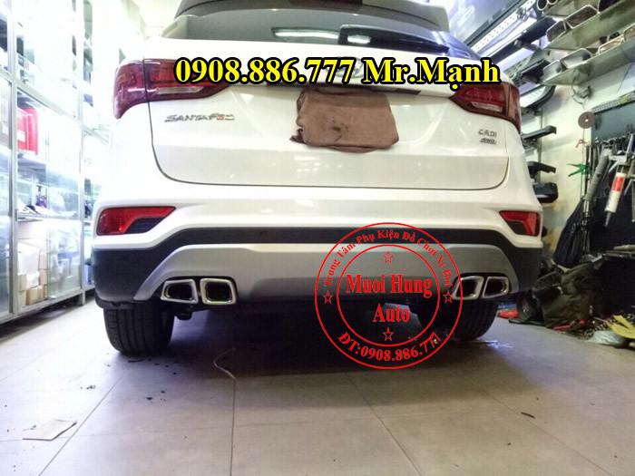 Độ Pô Xe Hyundai Santafe Tại TPHCM 02