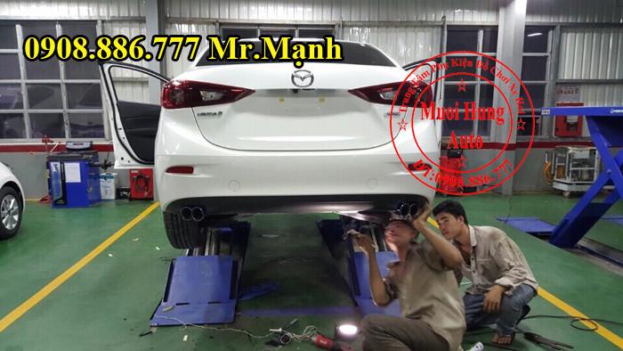 Độ Pô Xe Mazda 3 Tại TPHCM