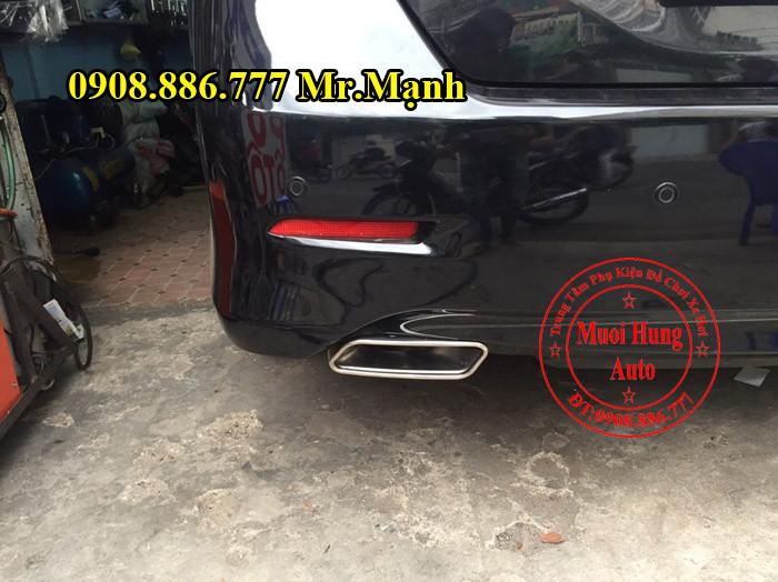 Độ Pô Xe Toyota Camry Tại Tphcm 01