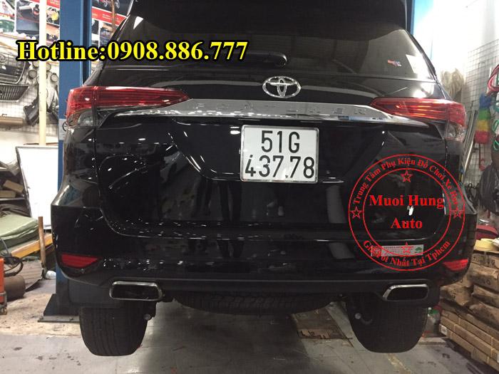 Độ Pô Xe Toyota Fortuner 2017 Tại Tphcm