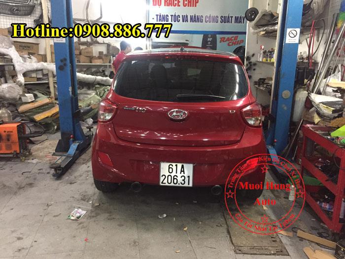 Độ Pô Hyundai i10 Chuyên Nghiệp Giá Rẻ 02