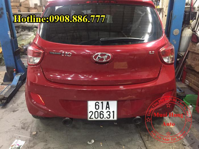 Độ Pô Hyundai i10 Chuyên Nghiệp Giá Rẻ 01