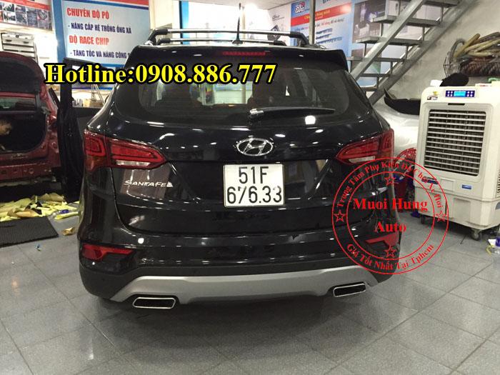 Độ Pô Zin Xe Hyundai Santafe 2016, 2017 01