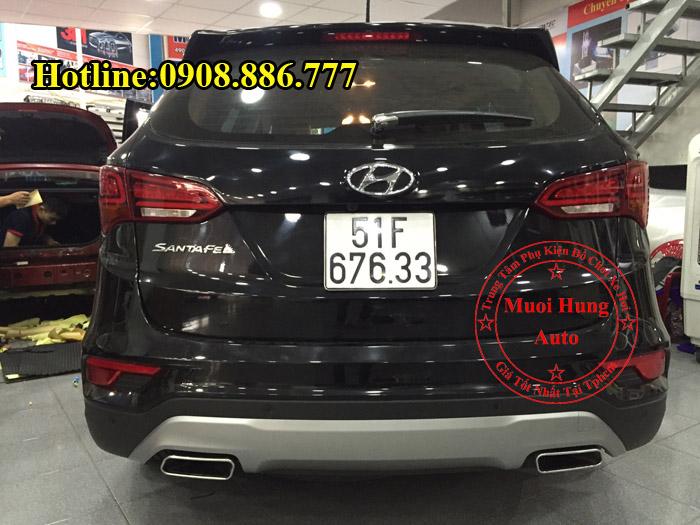Độ Pô Zin Xe Hyundai Santafe 2016, 2017