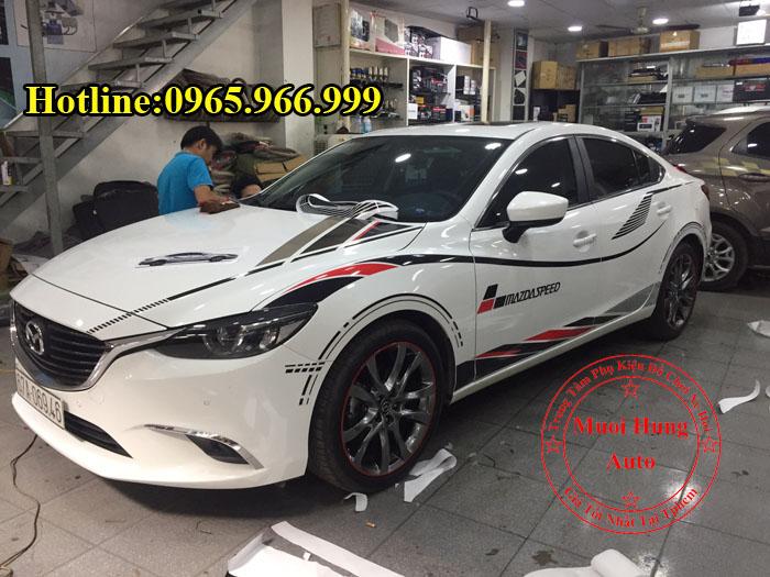 Độ Tem Cho Xe Mazda 6 Chuyên Nghiệp 02