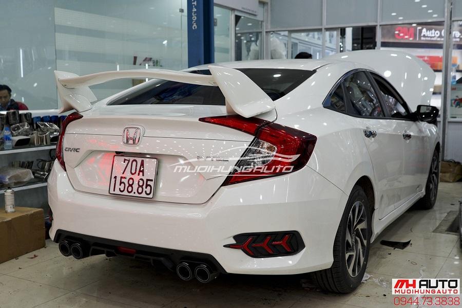 Đuôi Cá Cao Honda Civic 2018 Mẫu Mới Nhất 02