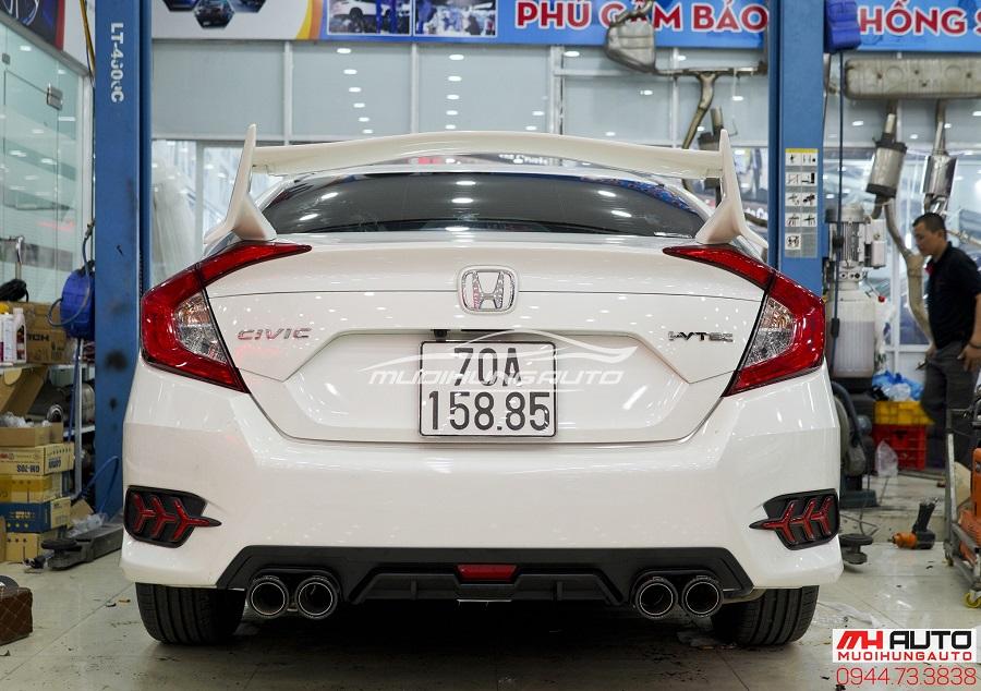 Đuôi Cá Cao Honda Civic 2018 Mẫu Mới Nhất 03