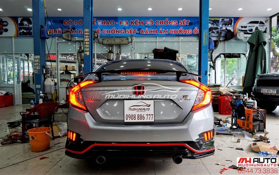Đuôi Cá Honda Civic Có Đèn Mẫu Mới Nhất 2018 06