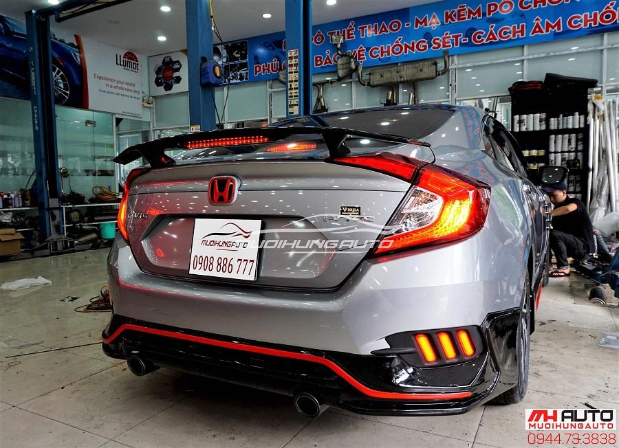 Đuôi Cá Honda Civic Có Đèn Mẫu Mới Nhất 2018