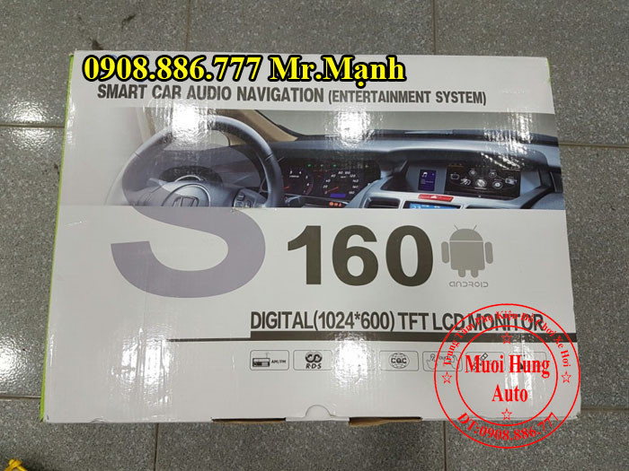 Dvd Winca S160 Chính Hãng Xe Honda City