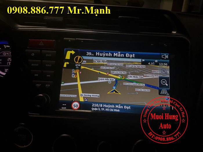 Dvd Winca S160 Chính Hãng Xe Honda City 05