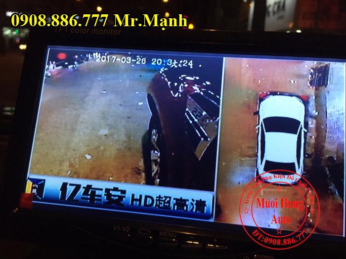 Gắn Camera 360 Độ Cho Xe Ford Everest 2017 02