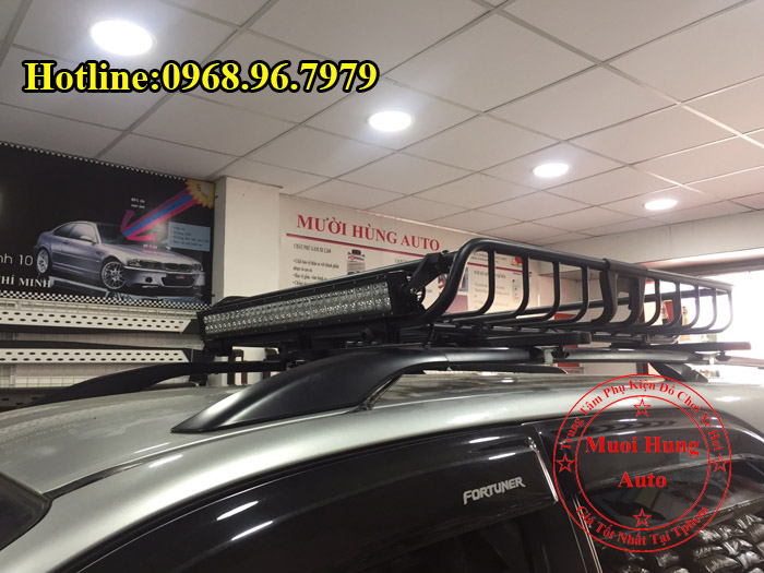 Lắp Baga Mui Xe Toyota Fortuner Tại Tphcm 02