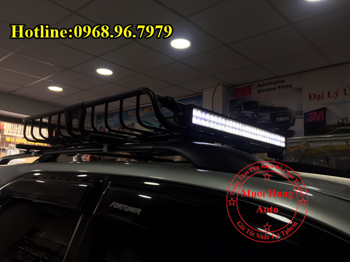 Lắp Baga Mui Xe Toyota Fortuner Tại Tphcm 03