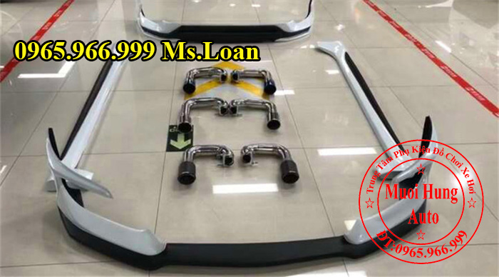 Lắp Body Kit Honda Civic 2016 Chính Hãng 01