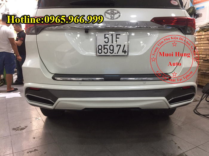 Body Kit Cao Cấp Toyota Fortuner 2016, 2017 01