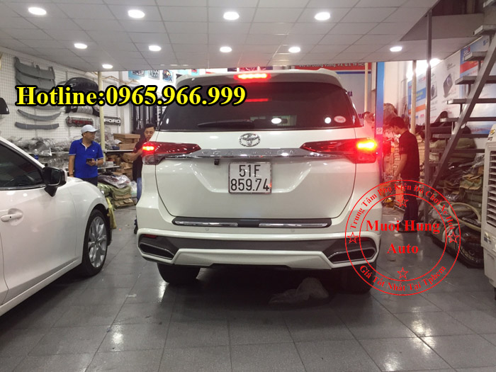 Body Kit Cao Cấp Toyota Fortuner 2016, 2017 03