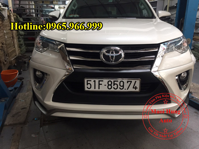 Body Kit Cao Cấp Toyota Fortuner 2016, 2017