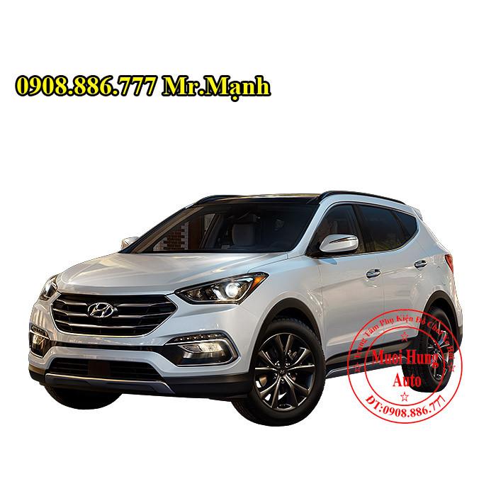 Lắp Bóng Xenon Chính Hãng Cho Hyundai Santafe 05