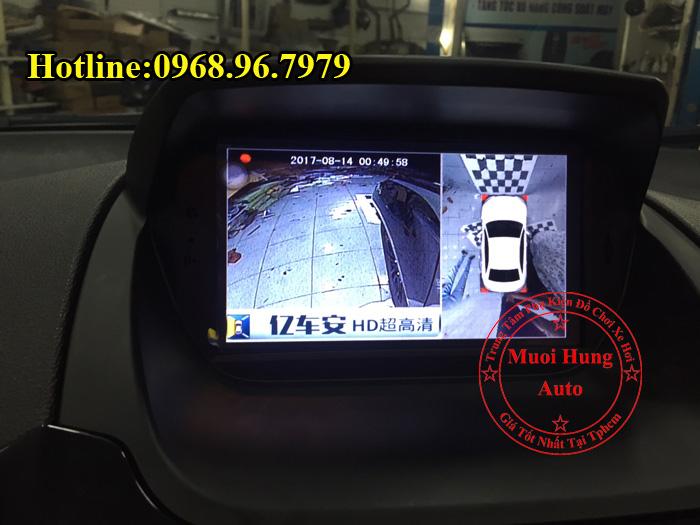 Lắp Camera 360 Độ Ford Ecosport Tại Tphcm 01