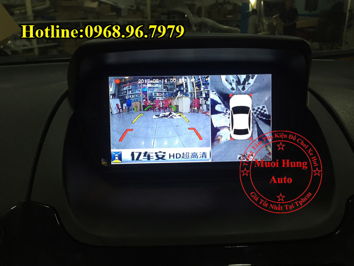 Lắp Camera 360 Độ Ford Ecosport Tại Tphcm 02