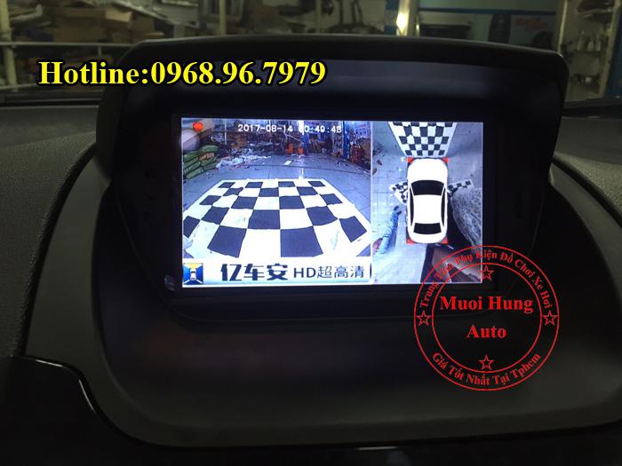 Lắp Camera 360 Độ Ford Ecosport Tại Tphcm