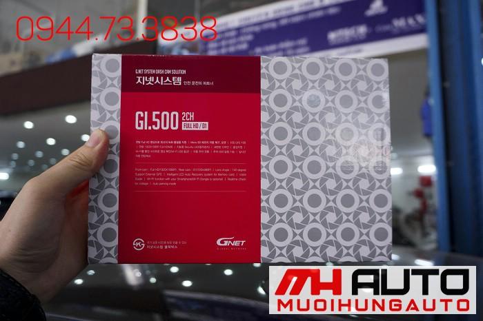 Lắp Camera Hành Trình GI500 Cho Mazda 3