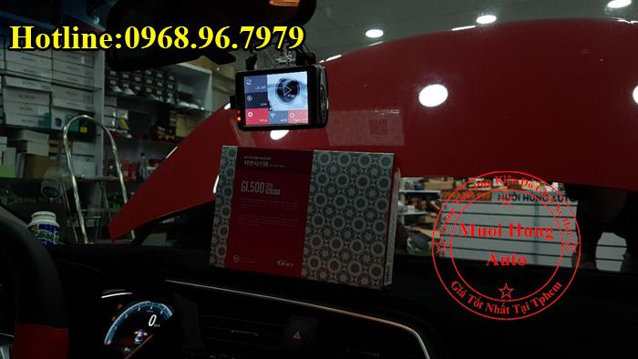 Gắn Camera Hành Trình GNet Gi500 Cho Oto