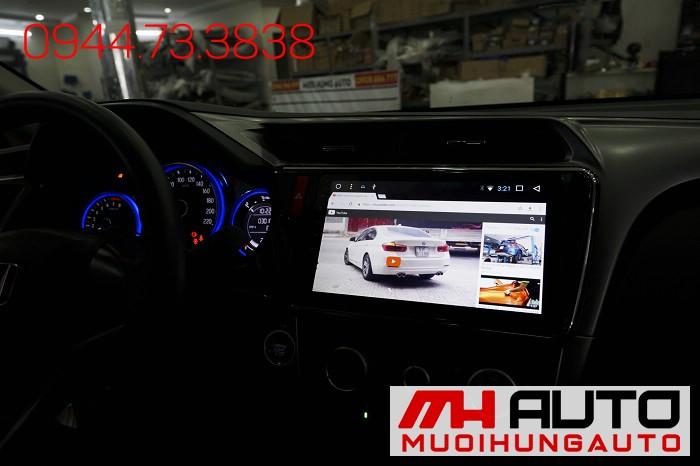 Lắp DVD Android Xe Honda City Chính Hãng 02
