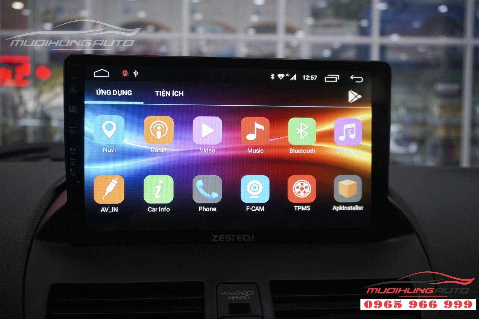 Lắp DVD Zestech Z500 chính hãng cho Acura 03