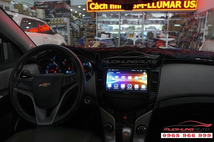 Lắp DVD zestech Z500 cho Chevrolet Cruze 04