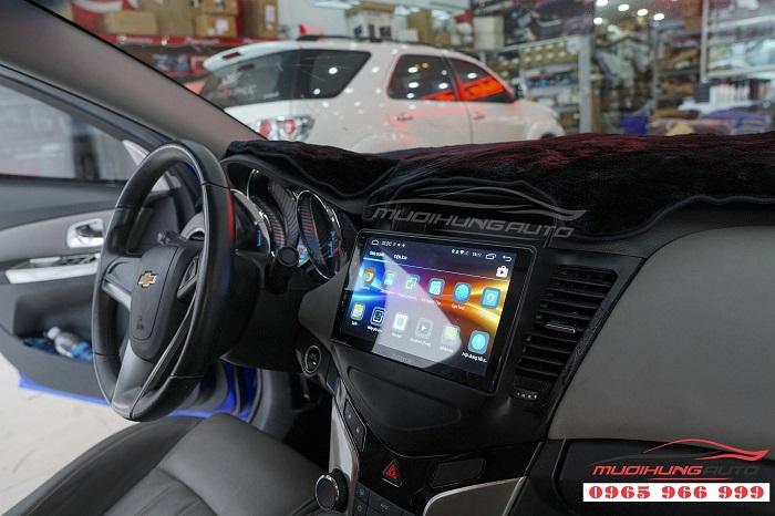 Lắp DVD zestech Z500 cho Chevrolet Cruze 01