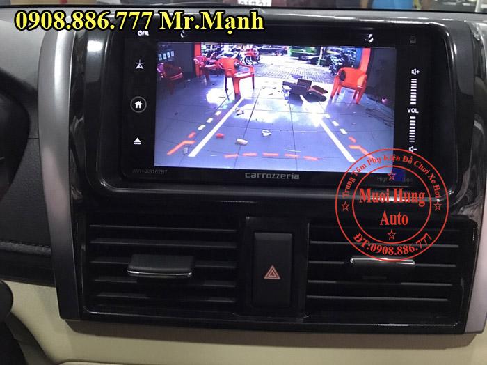 Lắp Màn Hình DVD Carrozzeria Xe Toyota Vios 02