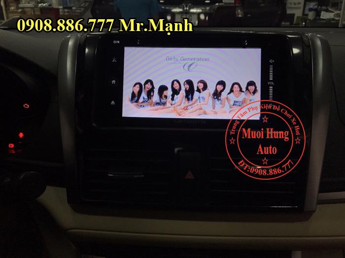 Lắp Màn Hình DVD Carrozzeria Xe Toyota Vios 03