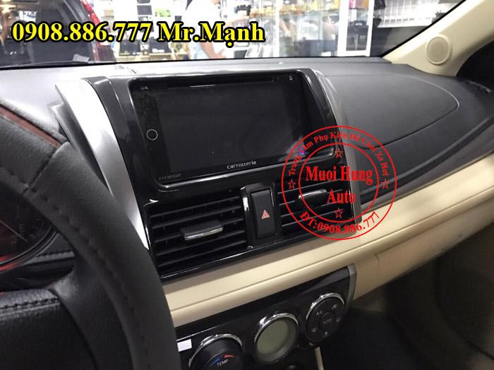 Lắp Màn Hình DVD Carrozzeria Xe Toyota Vios 04